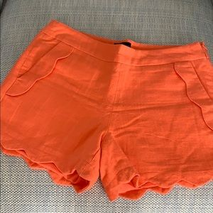 Cynthia Rowney Linen Shorts